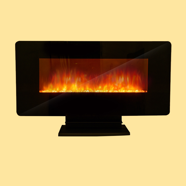 Factory direct supply LJHF3602E TV indoor home 220v wall mount electric fireplace