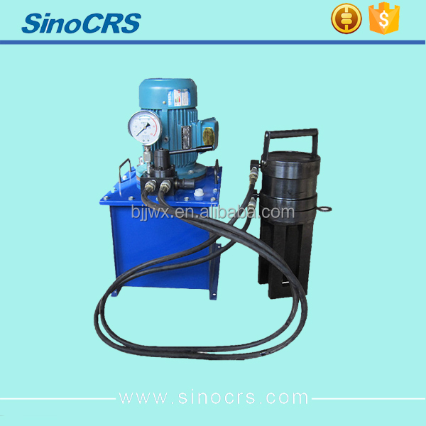 Rebar Coupler Machine Hydraulic Up to 32mm With Pressing Plate