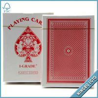 Cheap excellent custom gold foil playing cards