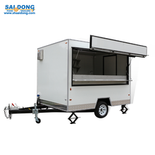 functional mobile container kitchen/food trailer/fast food van