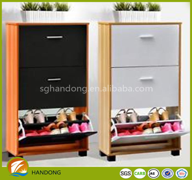 promotion 3 door MFC living room shoe cabinet