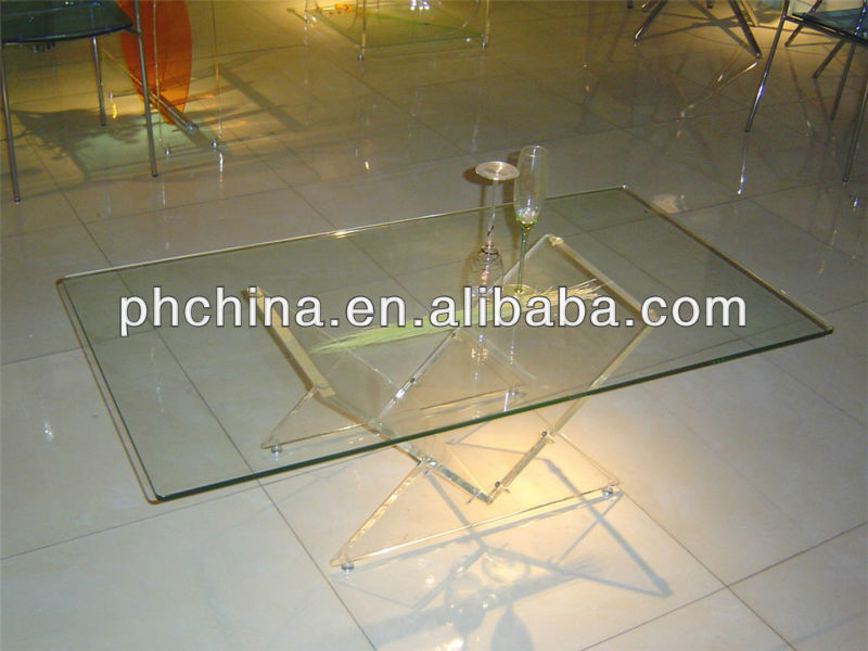 Lucite Plexiglass table top display customized design available