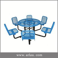 Arlau Bbq Table And Chairs Set,Garden Patio Set,Garden Dinning Table