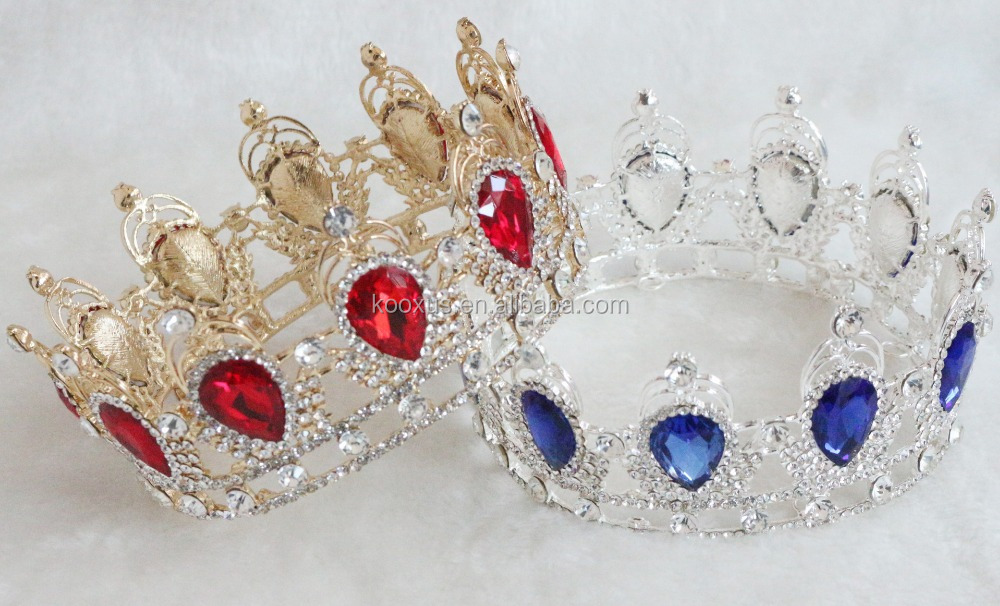 Ebay hot selling European pageant <strong>crown</strong>