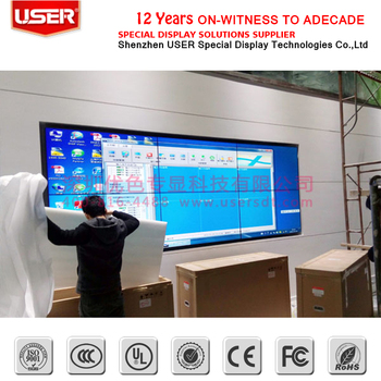 Most buyers choose USER 2x6 lcd video wall