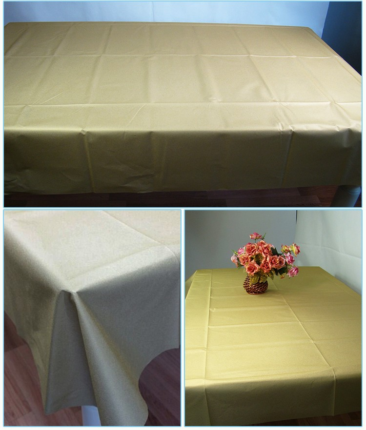 christmas printed decoration air laid paper table cloth