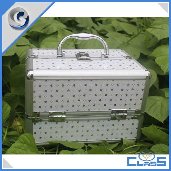 MLD-AC2332 Makeup Organizer Aluminum Box Cosmetic Bags & Cases
