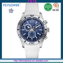 FS FLOWER - Can Swimming High Quality Sports Watch Mens Silicone Band 10 ATM Waterproof Watch