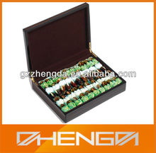 Hot!!! Customized Made-in-China Black Chocolates Festival Gifts Matte Lacquer Wooden Packaging(ZDC13-H013)