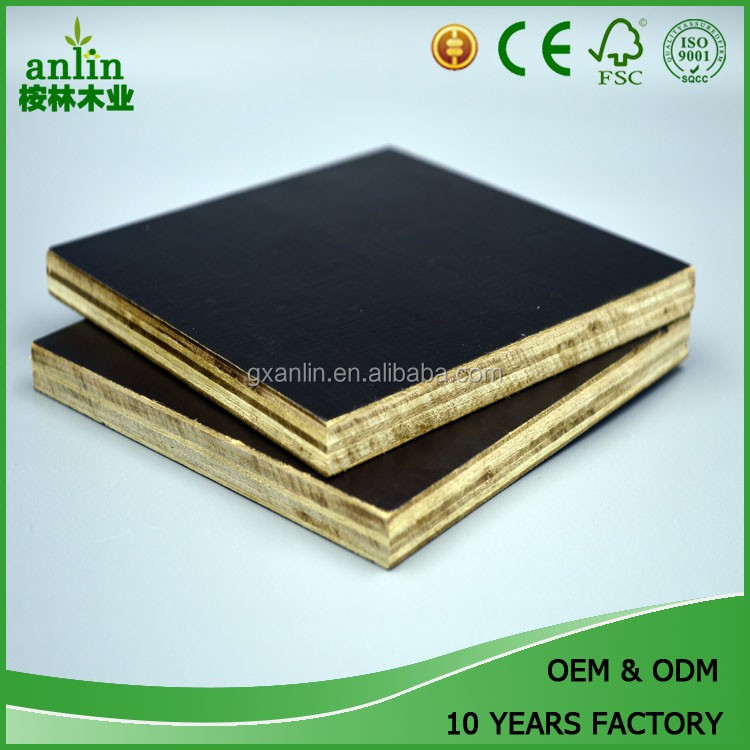 Construction Real Estate 18mm Laminated Plywood