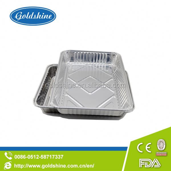 aluminum dishes delivery food Aluminum Foil Health Food Containers used for meal prep