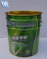 25L paint packing galvanized steel drum for factory containing ,paint printing,round tin can/drum