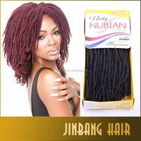 "1PC Nubian Twist 20"" Havana Mambo Twist Crochet Braids Senegalese Hair Extension Ombre Braiding Hair"