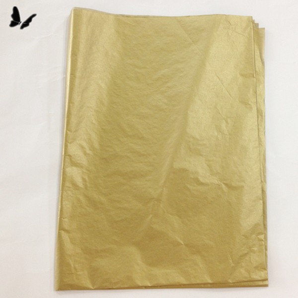 17gsm Metallic Gold Tissue Paper/wrapping paper