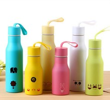 Good quality 350ml double wall sport matal flask