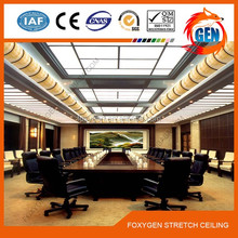 factory price pop stretch ceiling film design for office