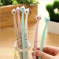 Cute cartoon cat gel pen kawaii stationery pens office school supplies