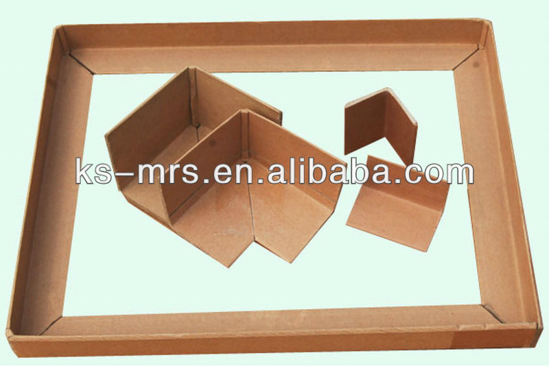 100% recycled paper corner, hardware corner for truck body, protective corners for furniture