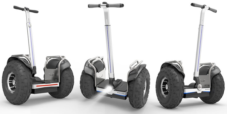 ESWING China shenzhen supplier electric chariot scooter 2 wheels gyropode for sale