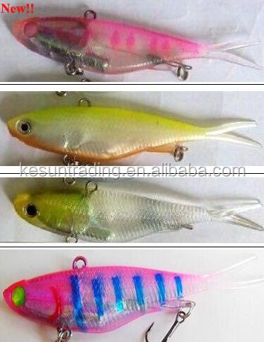 wholesale soft plastic fishing lures/soft tail vibe fishing lure, Fishing Reels