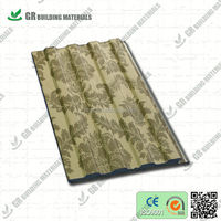 waterproof decorative insulated panel for interior trim