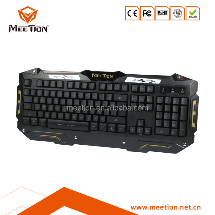 Panel Mount industrial kiosk backlit metal PC keyboard
