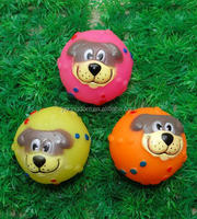 squeaky ball rubber dog toys making vinyl dog ball toy