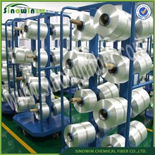 Longlasting fatigue resistant nylon thread for chemical protective cloth