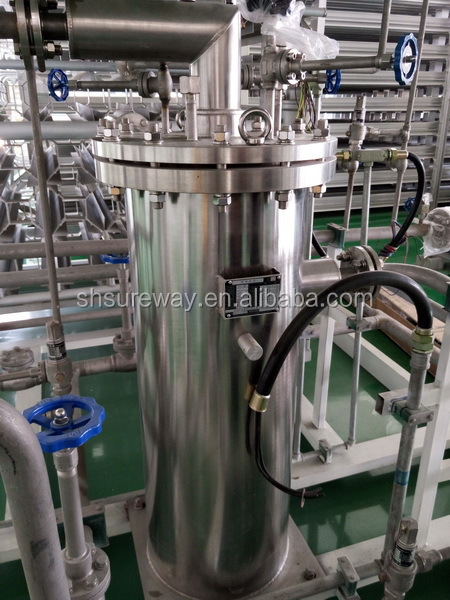 Liquid oxygen filling cylinder, Liquid oxygen filling use cryogenic pump & air ambient vaporizer skid