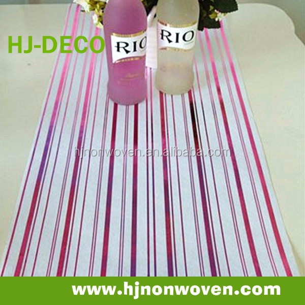 disposable paper table runner/linen/ paper roll table top