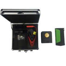 New design car emergency kit with battery jump starter, portable car charger
