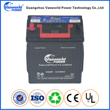 Europe Small Eco Car Battery Maintenance Free 12v 36ah Battery