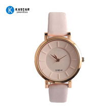 Fashion hot sale leather band African wrist supplier good quality watch