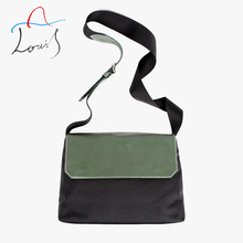 Messenger Bag Men Leather Casual canvas shoulder bag simple wild personality hit the new wave of color