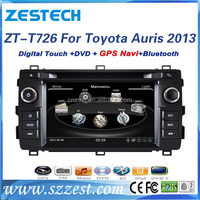 car audio for Toyota Auris 2013 car audio Compatible with DVD/VCD//MPEG4//WMA/JPEG HD 800*480 car audio system