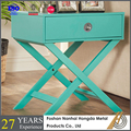 Folding wooden cheap bedside table