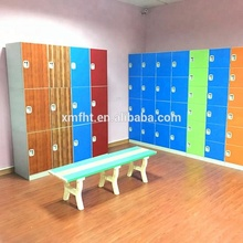 12 doors ABS plastic school and gym parcel storage cabinet smart lockers for pool