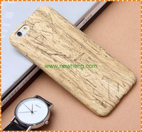Mobile phone accessories, Hot sell wood grain leather phone case for iphone 6 6 plus
