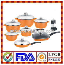 21pcs non-stick cookware induction based