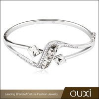 New Design Elegant Female Jewelry 925 Sterling Silver Bangle