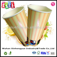 24oz Disposable Soda Drink Paper Cold Cups