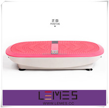 3D two motors compact vibration plate with resistance band