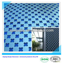 different hole style decorative punched metal sheet (manufacturer ISO9001 )