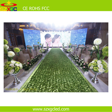high quality indoor rgb 3528smd display p5 meeting room rental led display screen