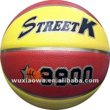 Foam and emboss logo ball/ sporting goods market size / official weight basketball(FRB023)