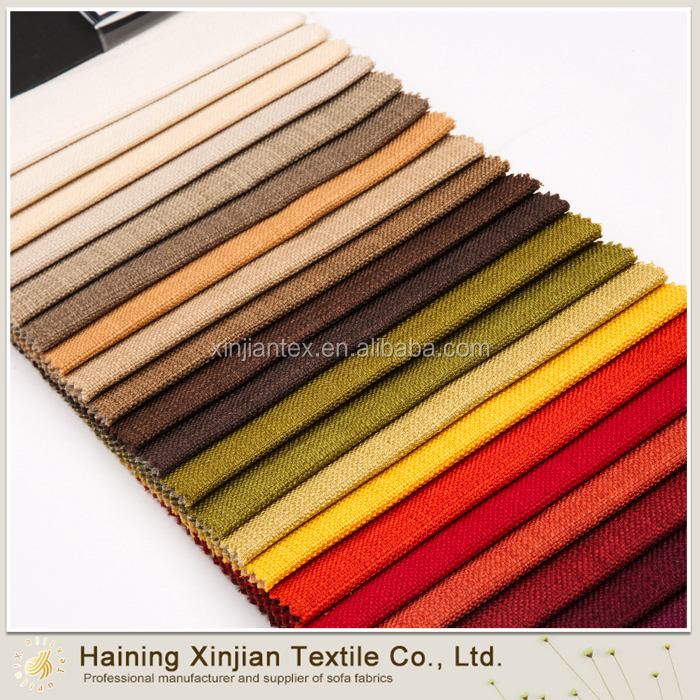 Wholesale Fashion linen fabric for Homes sofa/curtain