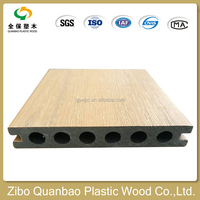 wood plasitc composite reused recycled strong sense of co -extrusion flooring