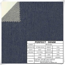 cotton spandex viscos poli viscos denim stock fabrics