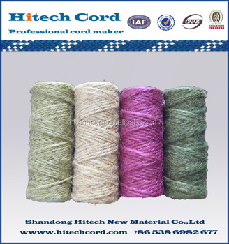 Colored 1mm Jute Twine/Cord