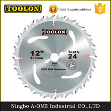 "High quality alloy steel 5/8"" white tct circular saw blade for wooden cutting"